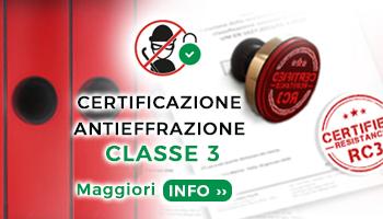 Certificazione antieffrazione